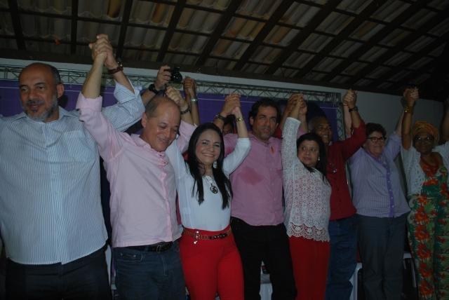 Candidatos a Deputado (a) Estadual, Prefeitos (as) e lideranças populares integram o leque de apoios a Moema