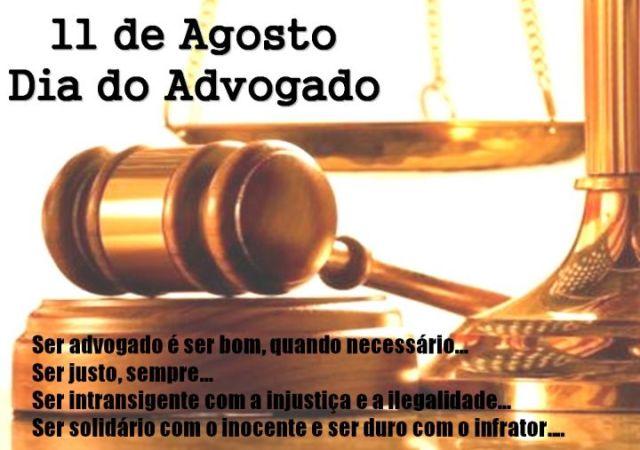 11 de agosto - Dia do Advogado