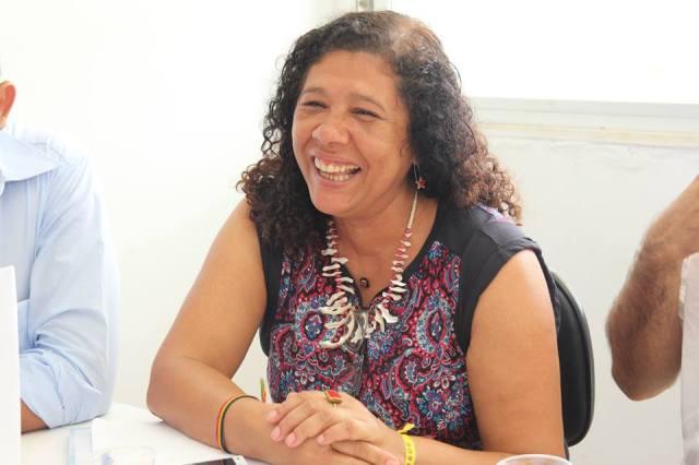 Marta Rodrigues - Secretária Estadual de Mulheres do PT/Bahia